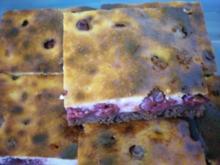Kirsch Quark Kuchen - Rezept