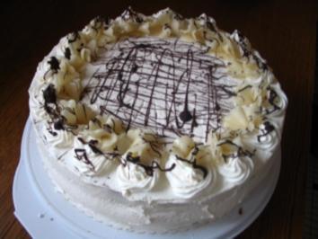 Marzipan-Vanille Torte - Rezept