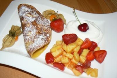 Pfannkuchen Tutti Frutti - Rezept