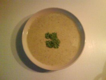 Suppe: Feine Brokkoli-Creme-Suppe - Rezept