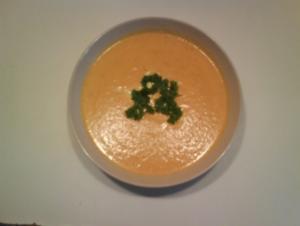 Suppe: Feine Möhren-Creme-Suppe - Rezept