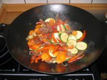 Rindfleisch in Reiswein und Sojasauce - Rezept