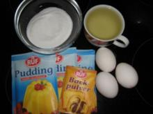 Vanillepudding - Boden - Rezept