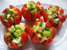 Tomaten-Körbchen - Rezept
