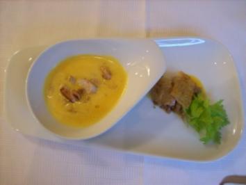 Hühnercremesuppe mit Zitrone - Rezept