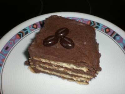 * Kuchen * Schokoladen-Keks-Kuchen - Rezept