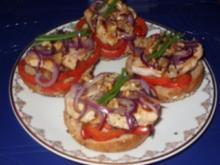 Abendbrötchen mit Zutaten aus der Pfanne - Rezept