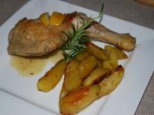Zitronen-Knoblauch-Huhn - Rezept