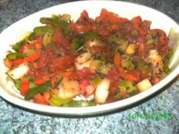 Rezept: Gemüse-Fisch-Auflauf