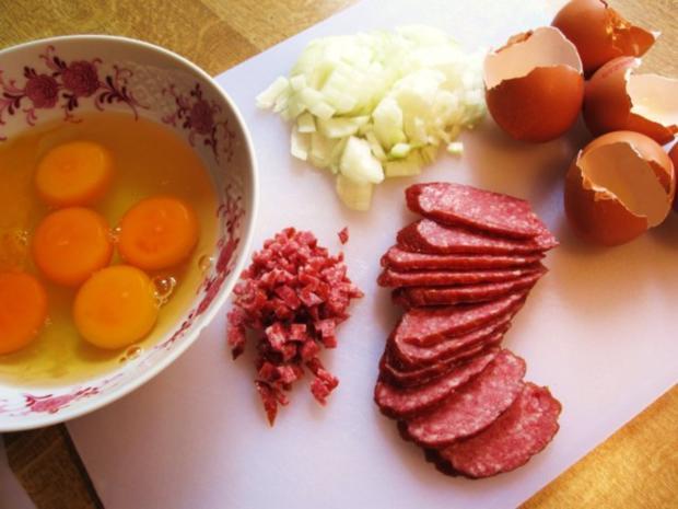 Ungarische Rühr-Eier .... - Rezept - Bild Nr. 2