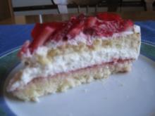 Erdbeer-Quarktorte - Rezept