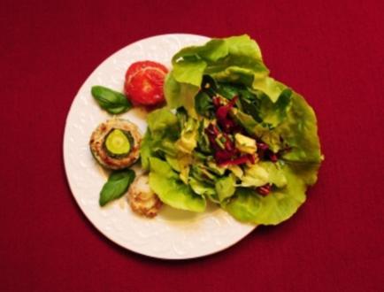 Petit délice de Provence et son bouquet de Salade Mimosa (Marlène Charell) - Rezept