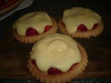 Erdbeer-Vanille-Küchlein - Rezept