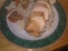 Hühnerbrustfilet auf Parmesan-PilzRisotto - Rezept