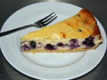Blaubeer-Käsekuchen - Rezept