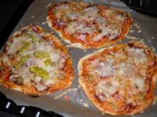 Kinderpizza - Rezept
