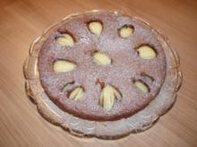 Birne-Helene-Kuchen - Rezept