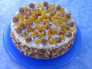 Giotto - Pfirsich - Torte - Rezept