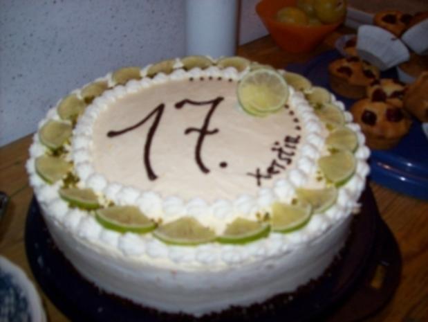 Caipirinha Torte - Rezept