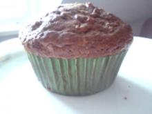 Schokoladige Karotten Muffins - Rezept