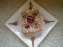 dunkler Kirschen Kuchen - Rezept