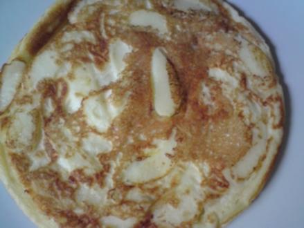 Julia's weltbeste Apfel-Schaum-Pfannkuchen - Rezept