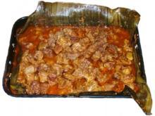Puerco Pibil (gebackener Schweinehintern) - Rezept