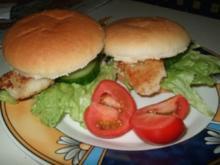 Fisch- Burger - Rezept