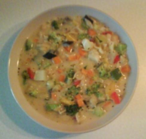 Suppe: Bunte Nudelsuppe - Rezept - Bild Nr. 2