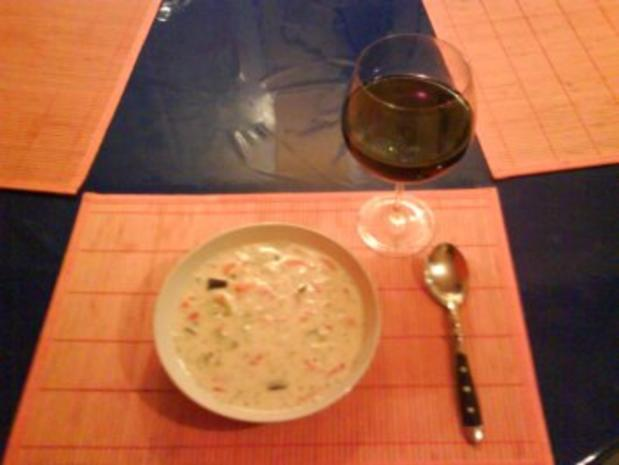 Suppe: Bunte Nudelsuppe - Rezept