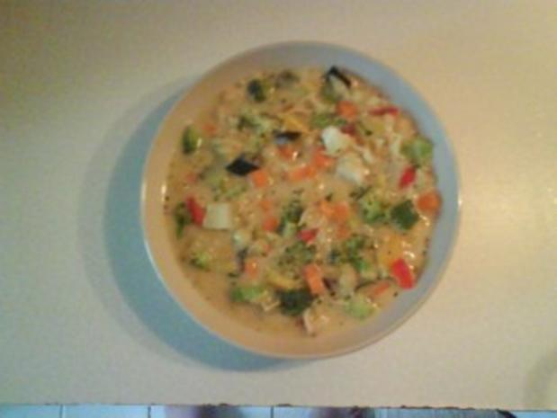 Suppe: Bunte Nudelsuppe - Rezept - Bild Nr. 4