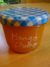 Sweet Chili Mango Chutney - Rezept