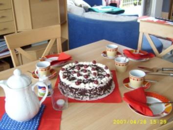 Rezept: Schwarzwälder Kirschtorte