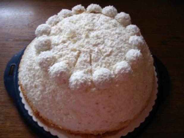 Kokos - Kuppeltorte - Rezept - Bild Nr. 2