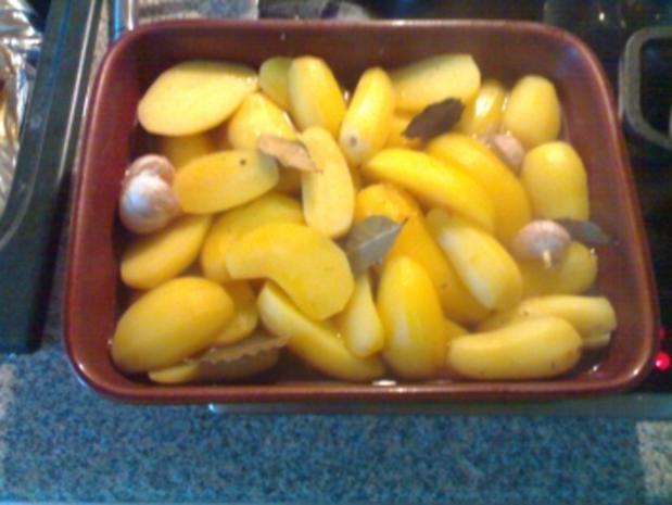 Kartoffeln aus der Röhre - Rezept