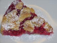 Kikis Johannisbeer-Walnusstreusel-Kuchen - Rezept