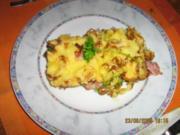 Broccoli-Pfannkuchen-Auflauf - Rezept