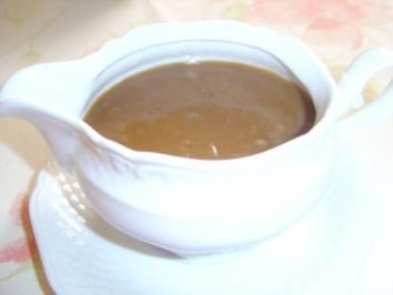 Senfsoße - Rezept