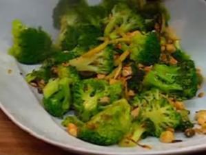 Geschmorter Brokkoli - Rezept