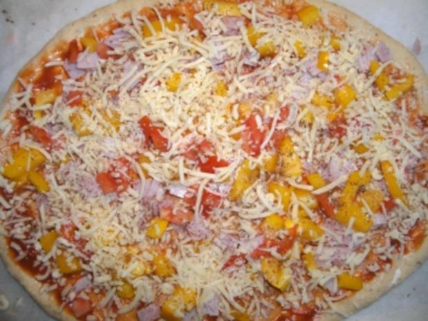Pizza - Variante 1 - Rezept - Bild Nr. 6