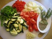 Paprika-Zucchini-Gemüse ..... - Rezept