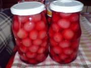 Süßkirsch-Kompott - Rezept