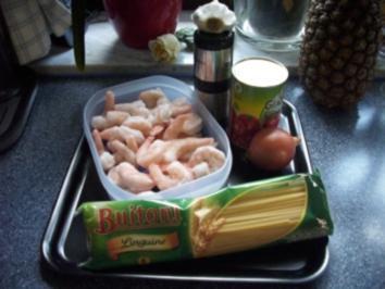 Spaghetti mit Scampisugo - Rezept