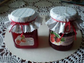 Erdbeermarmelade - Rezept