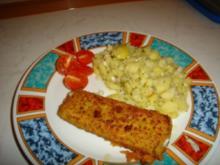 Goldschatz von Iglo und einen Kartoffelsalat wie ich in mag - Rezept