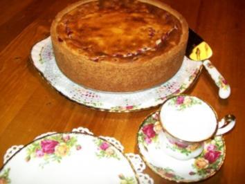 Johannisbeer-Cheesecake - Rezept