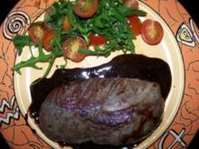 Fleisch - Entenbrust mit Balsamico-Honig-Sauce - Rezept