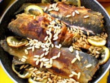 FISCH: Forelle mediterran mit Rosmarinkartoffeln - Rezept