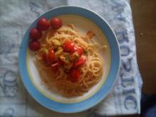 erster gang spaghetti di zio shiva - Rezept