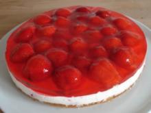 Erdbeer-QuarkCreme-Torte - Rezept